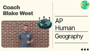 Coach Blake West AP Human Geography