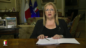 H.E Marie-Louise Coleiro Preca, the President of Malta