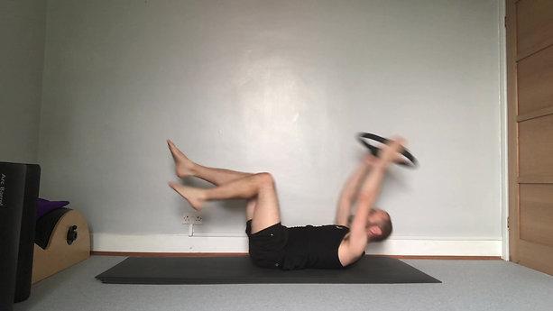 Single Leg Stretch With Circle