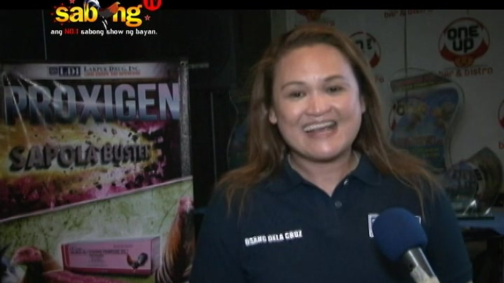 Part 2 of Osang Dela Cruz in SabongTV Throwback