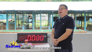 Gamit Gamefarm Feature on Sabong Cockpit Weighing Scale February 28, 2021