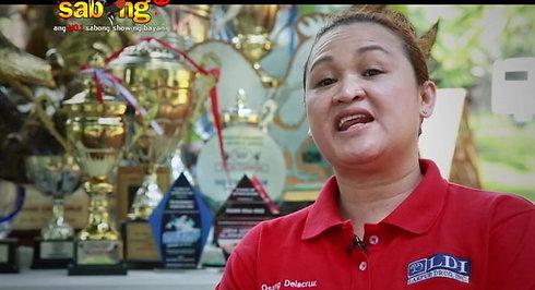 Part 1 of Osang Dela Cruz in SabongTV Throwback