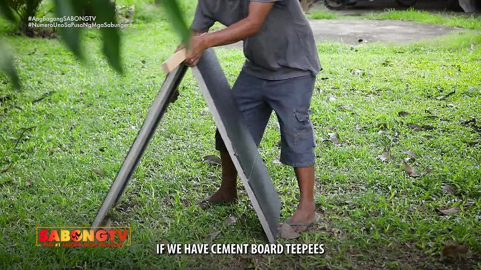 Gamit Gamefarm Feature on Cement Board Teepee July 18, 2021