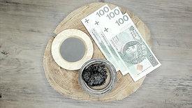 Magnetyt - przyciąganie rzeczy na przykładzie pieniędzy