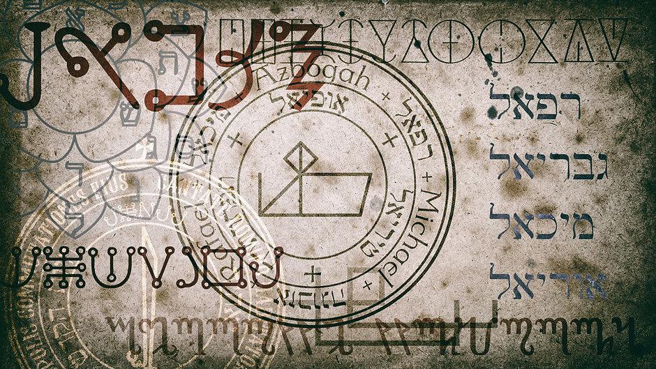 Wysoka Magia - starożytne symbole, dawne alfabety, magiczne talizmany, potężne sygile i kwadraty magiczne.