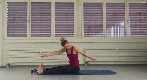 Pilates Mat Basic mit Jeanine