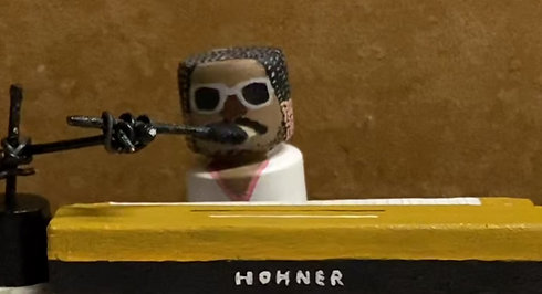"""a tribute puppet show to """" Stevie Wonder"""""""