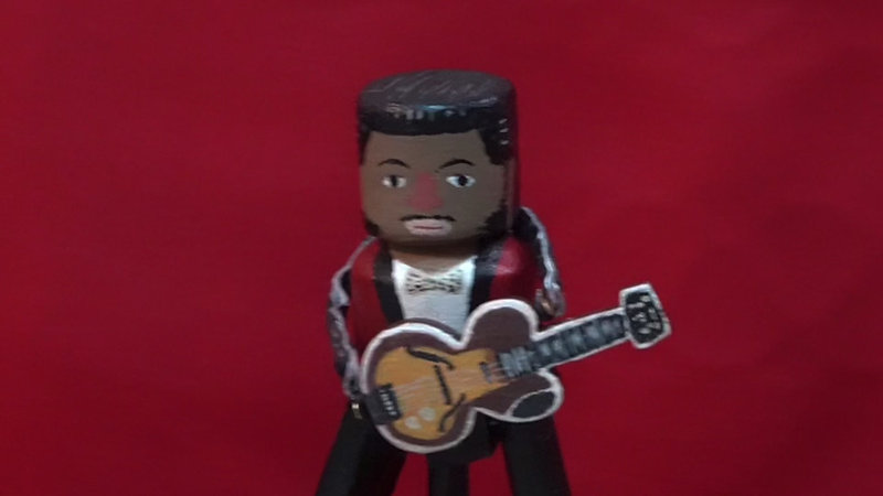 """a tribute puppet show to """" Chuck Berry"""""""