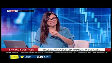 Jonathan Figoli, Ceo di ProfessioneFinanza a SKYTG24