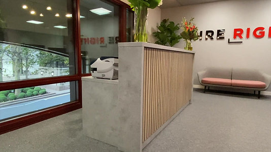 Stave TC1 Reception Desk