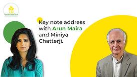 Keynote Address with Arun Maira and Miniya Chatterji