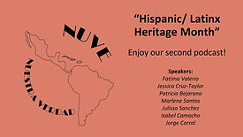 Hispanic/Latinx Heritage Month