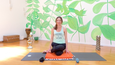Glow Yin - Stretch & Release Shoulders Hamstrings