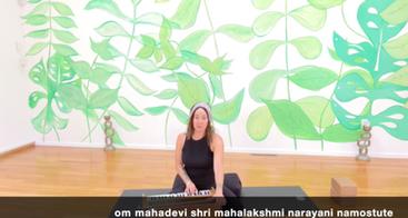 Glow Flow 'Embodying Lakshmi Energy' with Erika