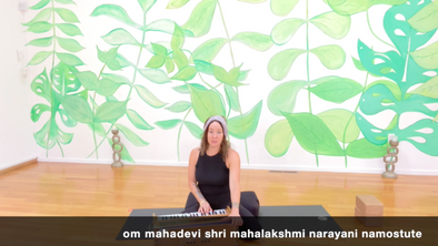 Glow Flow 'Embodying Lakshmi Energy' with Erika