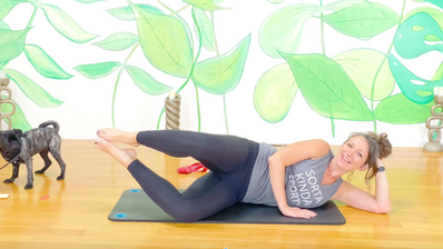 Glow Mindful Core using Resistance Band with Christina