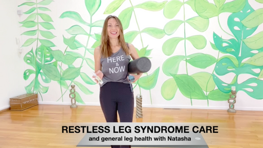 Restless Leg Syndrome and General Leg Care with Natasha