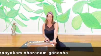 Glow Flow 'Honoring Ganesha' with Erika