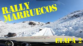 Rally etapa 2 Dades - Zagora