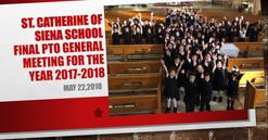 Final PTO meeting 2017-2018