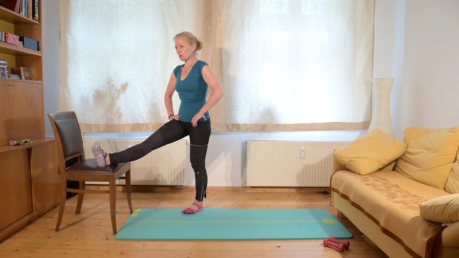 Pilates-Faszientraining mittelschwer