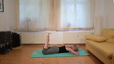 Wohnzimmer-Pilates anspruchsvoll