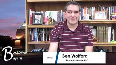 BBC Wednesday Night Message - 10/21/2020