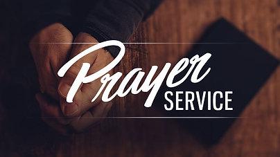 BBC Prayer Service - 9/26/2020