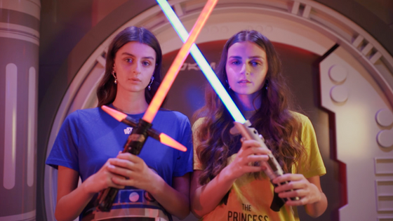 making of shooting UNDIZ x Star Wars