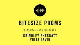 Prom 83 - September 11: The Vagabond - Brindley Sherratt & Yulia Levin