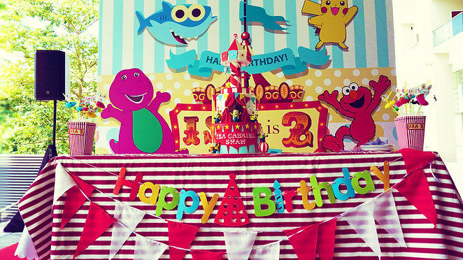 Decoration @ Isa 2nd Birthday