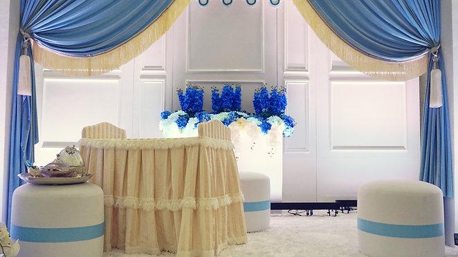 Decoration @ Majlis Aqiqah & Kesyukuran Ahmad Zareff @ Sime Darby Convention Centre