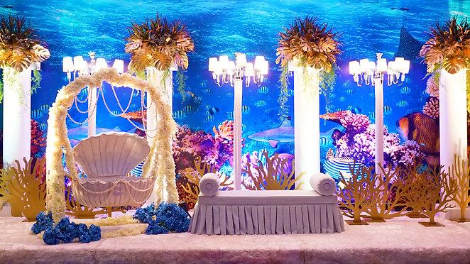 Decoration @ Majlis Cukur Jambul Tengku Abdullah Amir Ahmad Shah