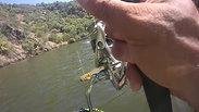 Silure en Float tube au Portugal - Guadiana river