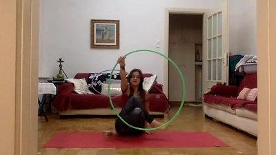 Recorded Zoom of Hoop Yoga - Quarantine Classes