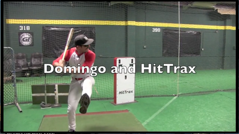 Domingo and HitTrax