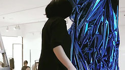 Mirrors Sculptures and Mylar Installation ( COS Store)
