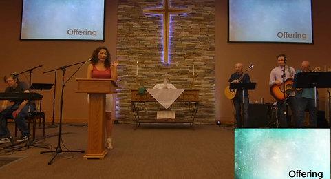 Sunday, June 6th Service - Philippians 2:1-2; 5-11