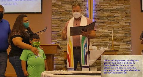 Matthew 3:14-4:3 The Baptism of Jesus May 16 2021