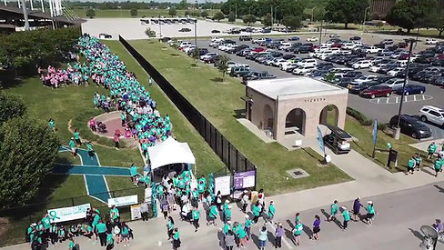 2018 Geaux Teal Walk Drone Footage