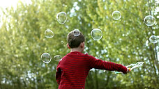 May you never outgrow bubbles.