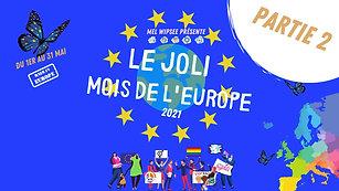 Débat MOIS DE L'EUROPE (2/5) - Quelle place pour la JEUNESSE dans l'UNION EUROPÉENNE ?