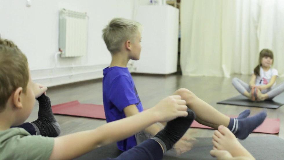 Детская йога 6-10 лет