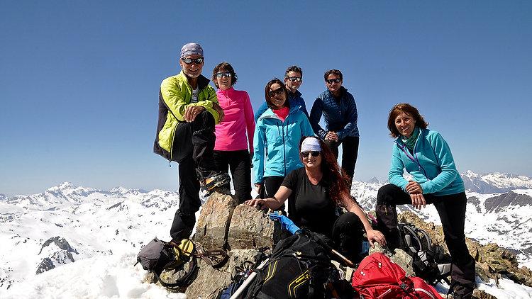Ascension du pic de Peyreget