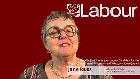Jane Russ for Westbury