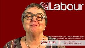 Jane Russ Unitary Candidate