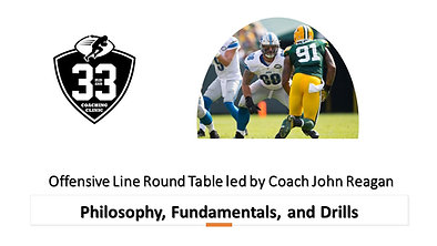 Offensive Line Philosophy, Fundamentals, and Drills