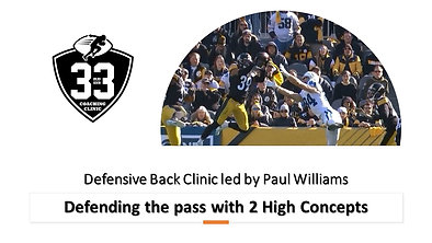 Defending the Pass with 2 High Zones