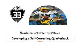 Building a Self-Correcting Quarterback