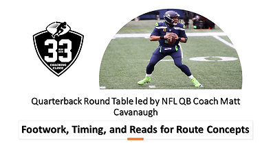Footwork, Timing, and Reads for Route Concepts